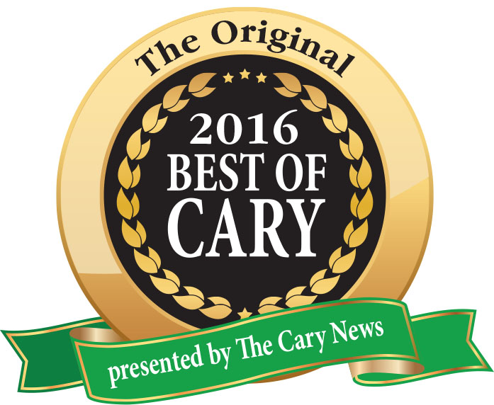 Best of Cary 2016 badge